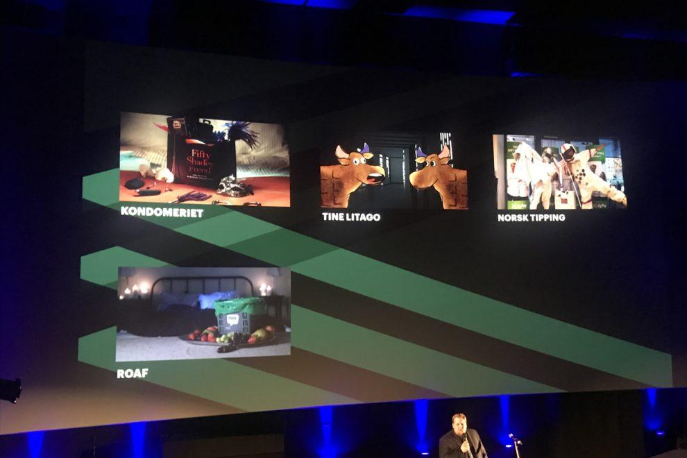 Nominerte Big screen awards